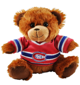 """Forever Collectables FOCO Seated Jersey Bear 7.5"""" Montreal Canadiens"""
