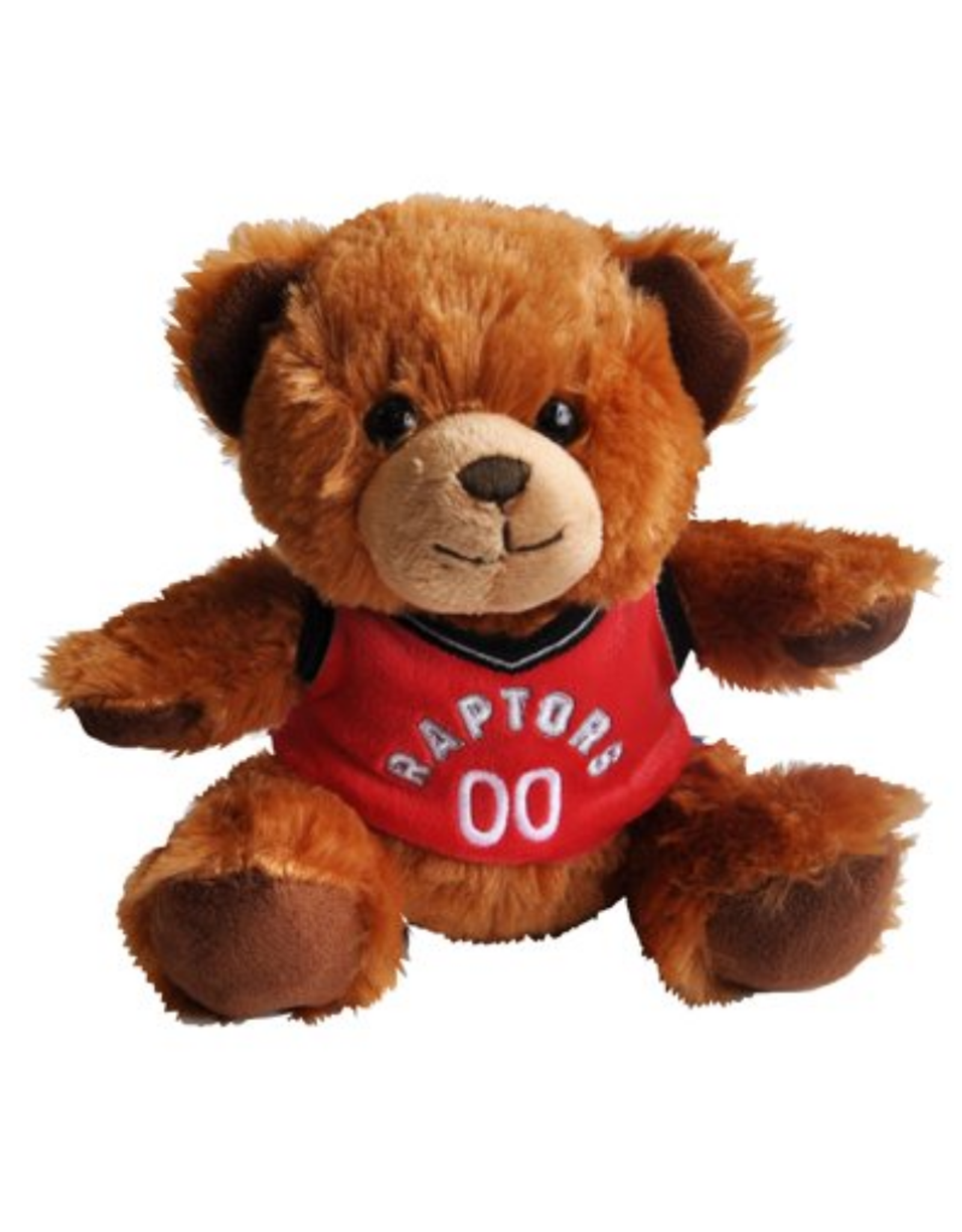 """Forever Collectables FOCO Seated Jersey Bear 7.5"""" Toronto Raptors"""