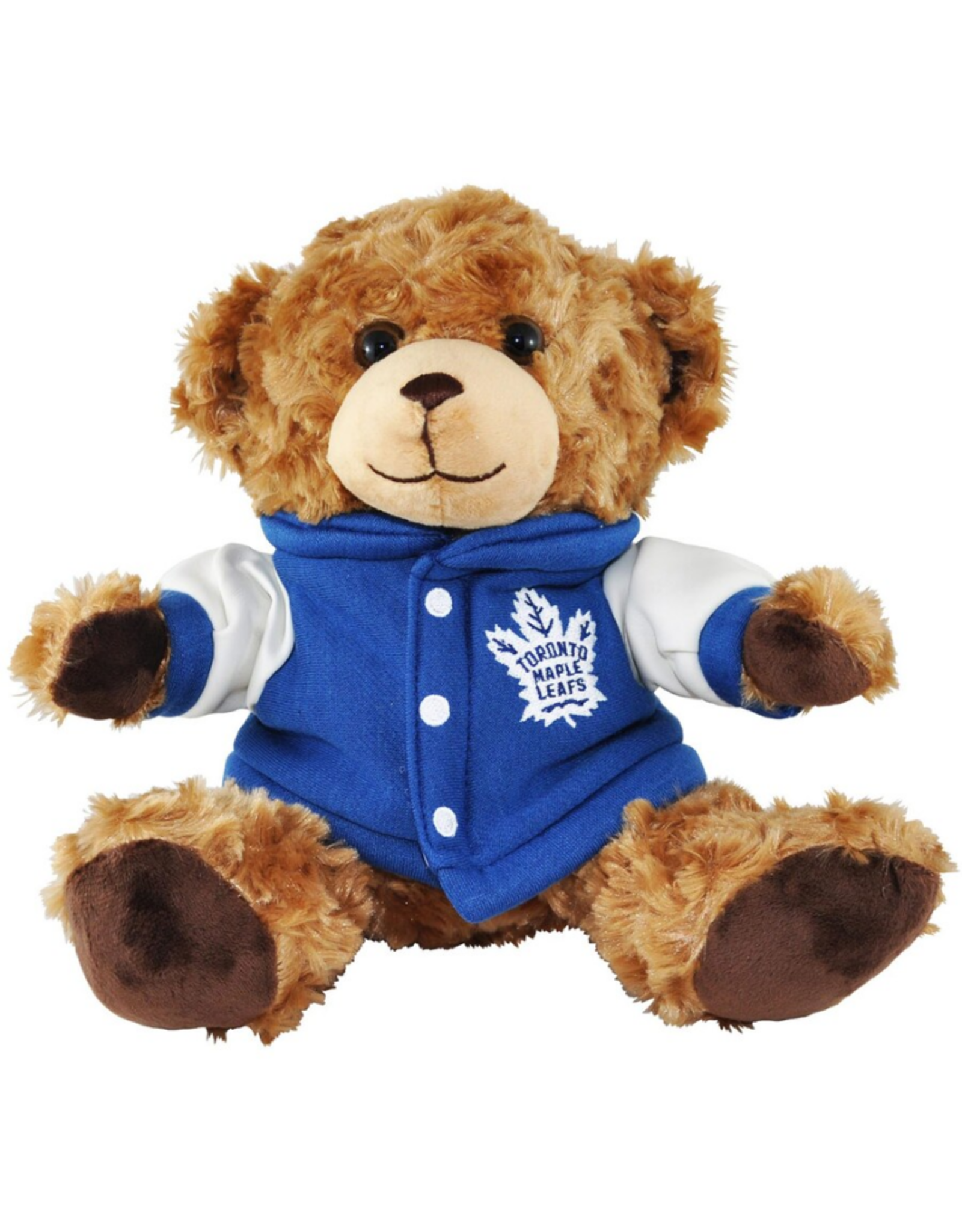 """Forever Collectables FOCO Seated Varsity Bear 10"""" Toronto Maple Leafs"""