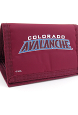 JF Sports Velcro Wallet Colorado Avalanche