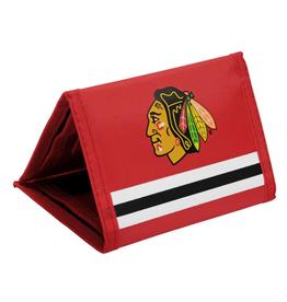 JF Sports Velcro Wallet Chicago Blackhawks