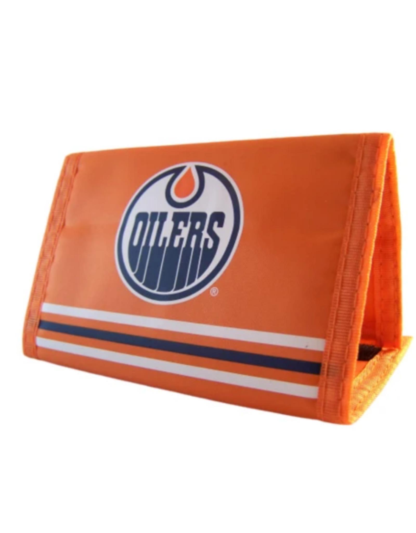 JF Sports Velcro Wallet Edmonton Oilers