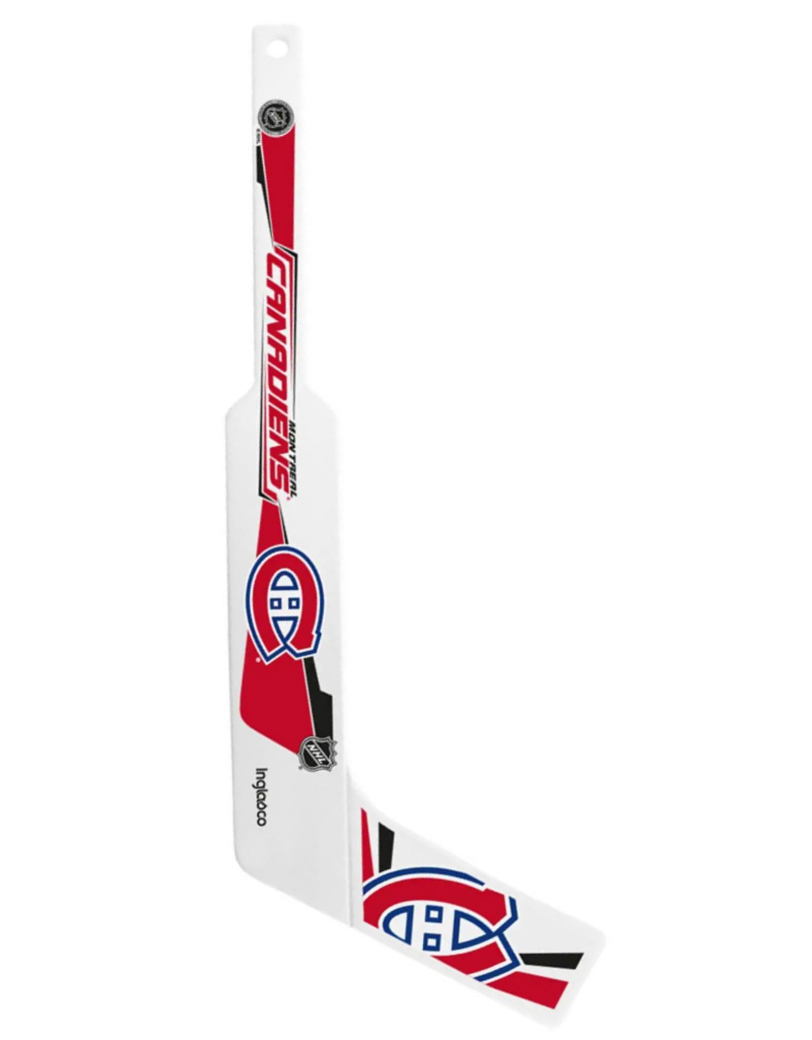 Inglasco Mini Plastic Goalie Stick Montreal Canadiens