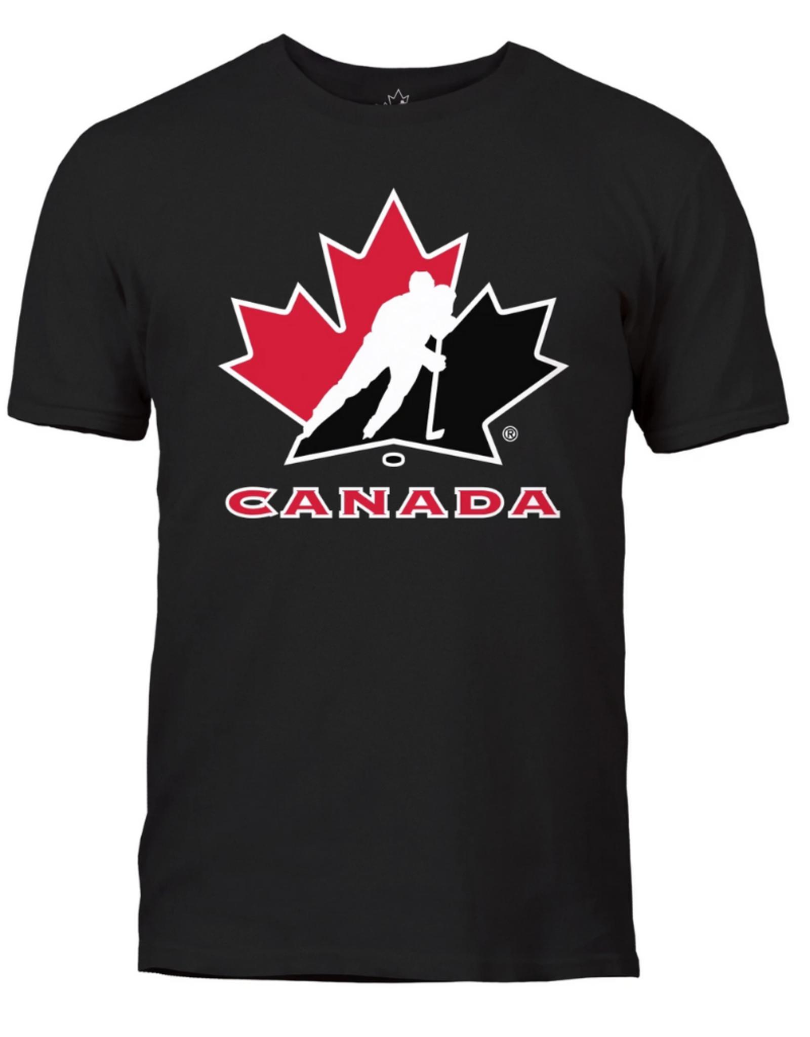 Fanatics Fanatics Men's Primary Logo T-Shirt Team Canada Black