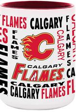 NHL 15oz Espirit Coffee Mug Calgary Flames