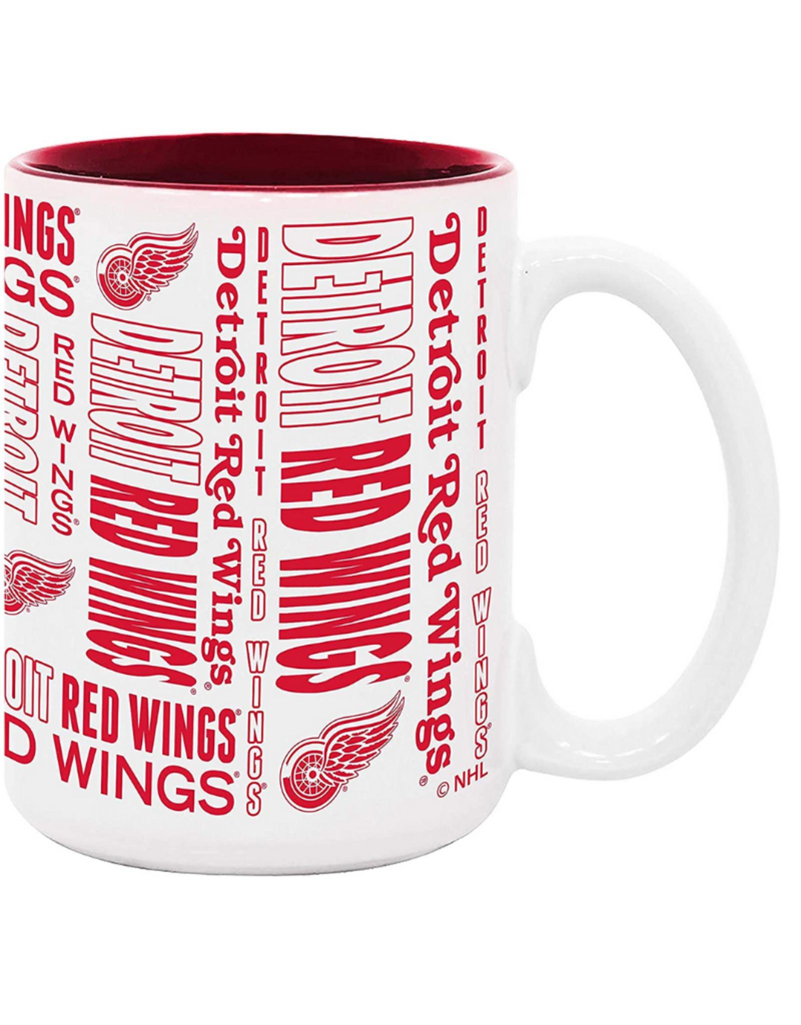 NHL 15oz Espirit Coffee Mug Detroit Red Wings