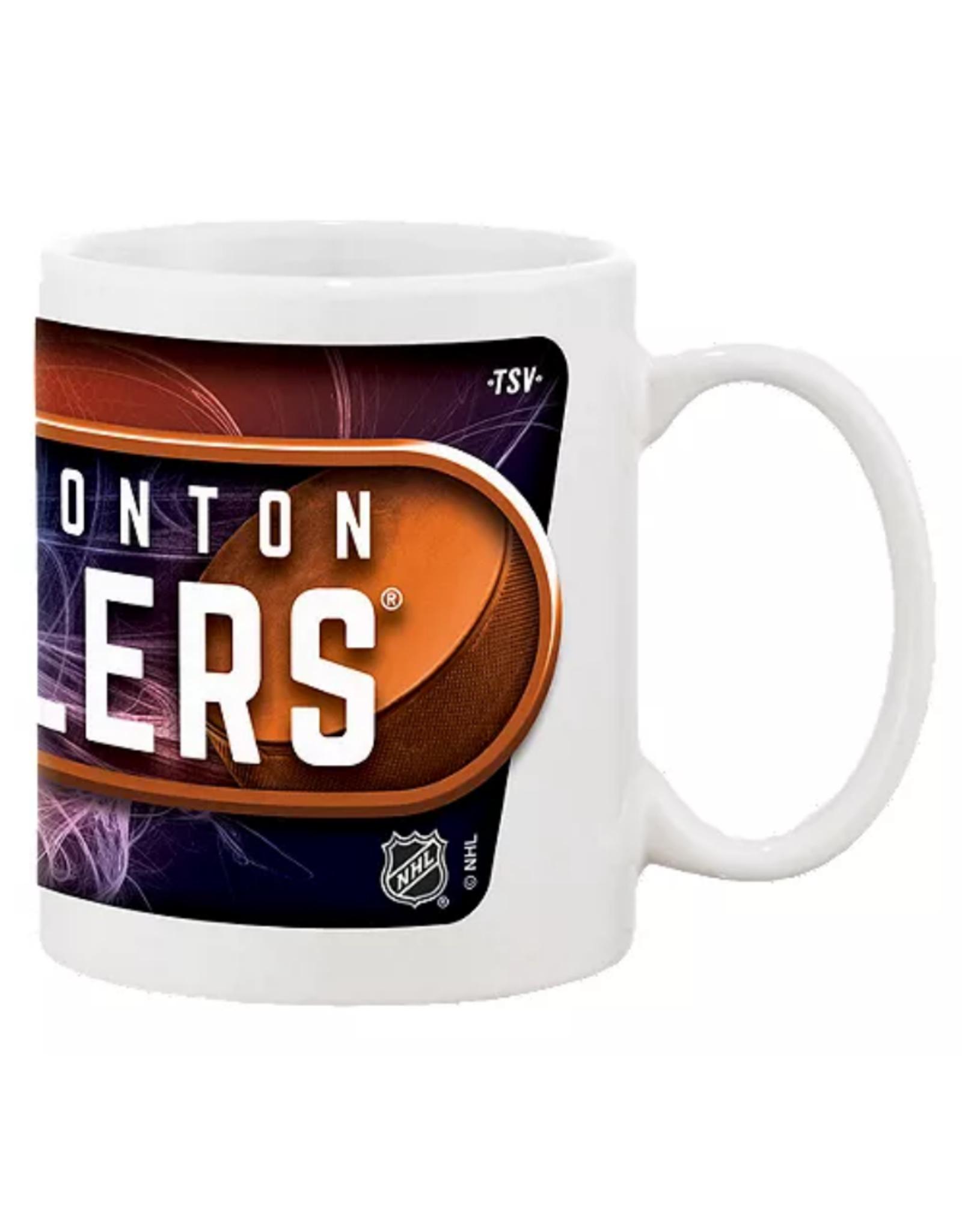 NHL 11oz Sublimated Coffee Mug Edmonton Oilers