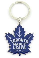 JF Sports Logo Keychain Toronto Maple Leafs