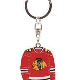 JF Sports Home/Away Keychain Chicago Blackhawks