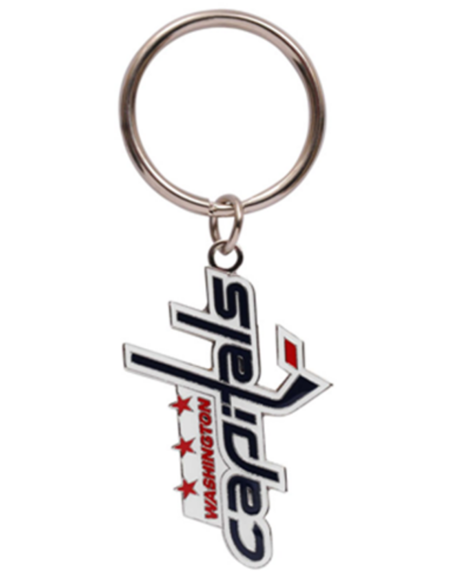 JF Sports Logo Keychain Washington Capitals