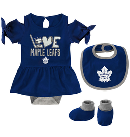 NHL Infant Crossover Love Creeper Toronto Maple Leafs