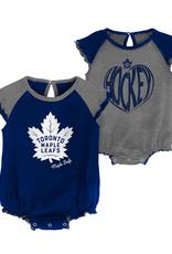 NHL Newborn Outerstuff Goalie Creeper Toronto Maple Leafs