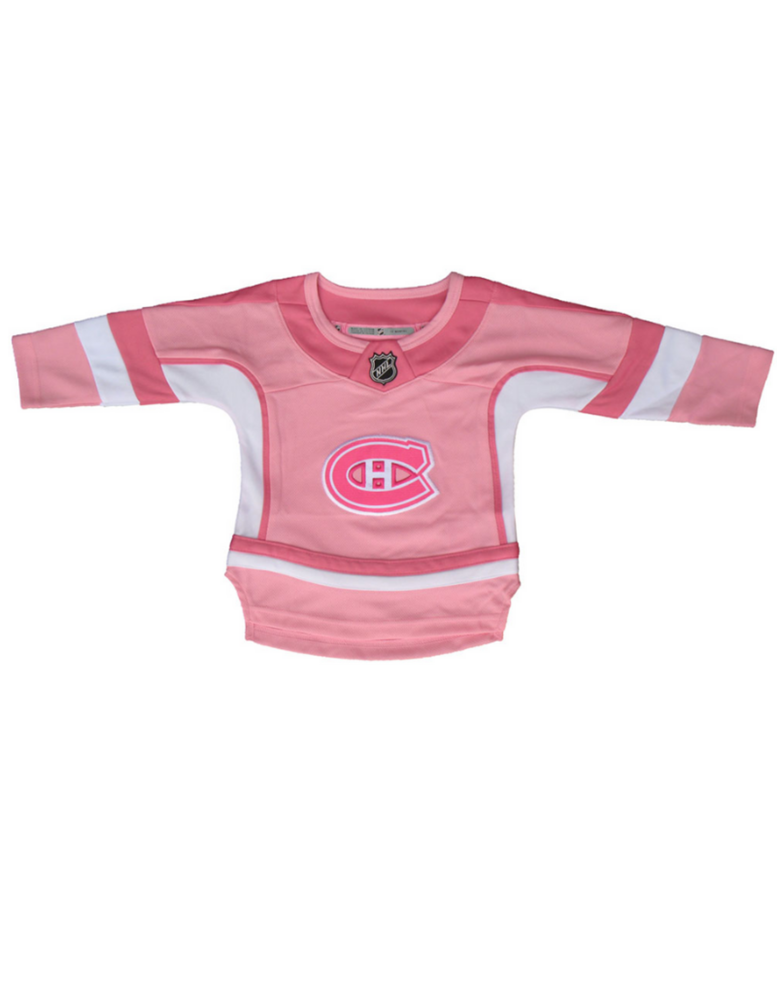 NHL Infant Sewn-On Jersey Montreal Canadiens Pink