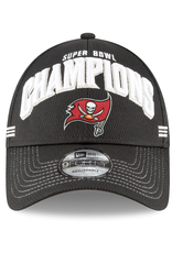 New Era Super Bowl LV Champions 9FORTY Locker Room Hat Tampa Bay Buccaneers