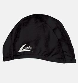 Leader Adult Match Swim Cap Black