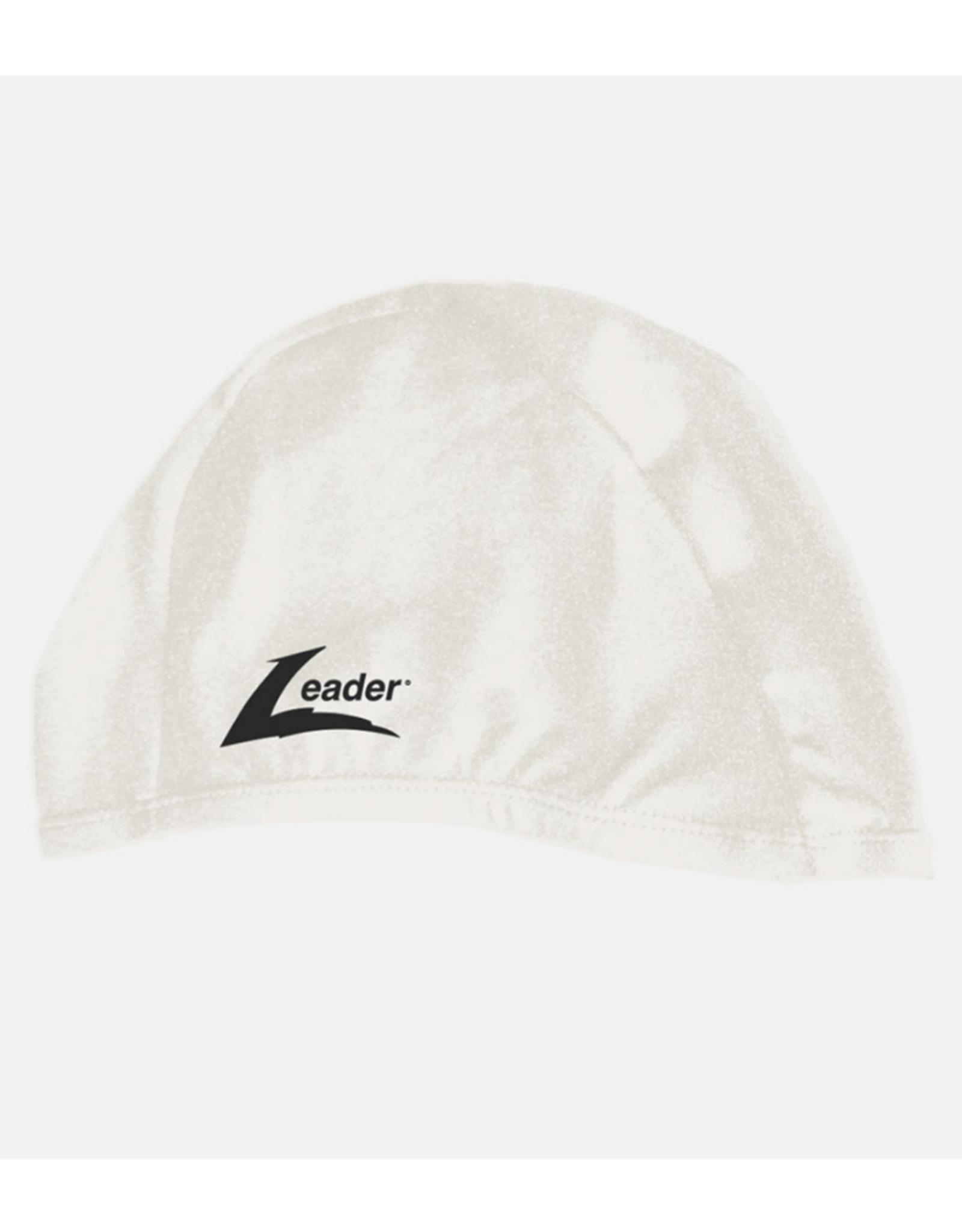 Leader Adult Match Swim Cap White