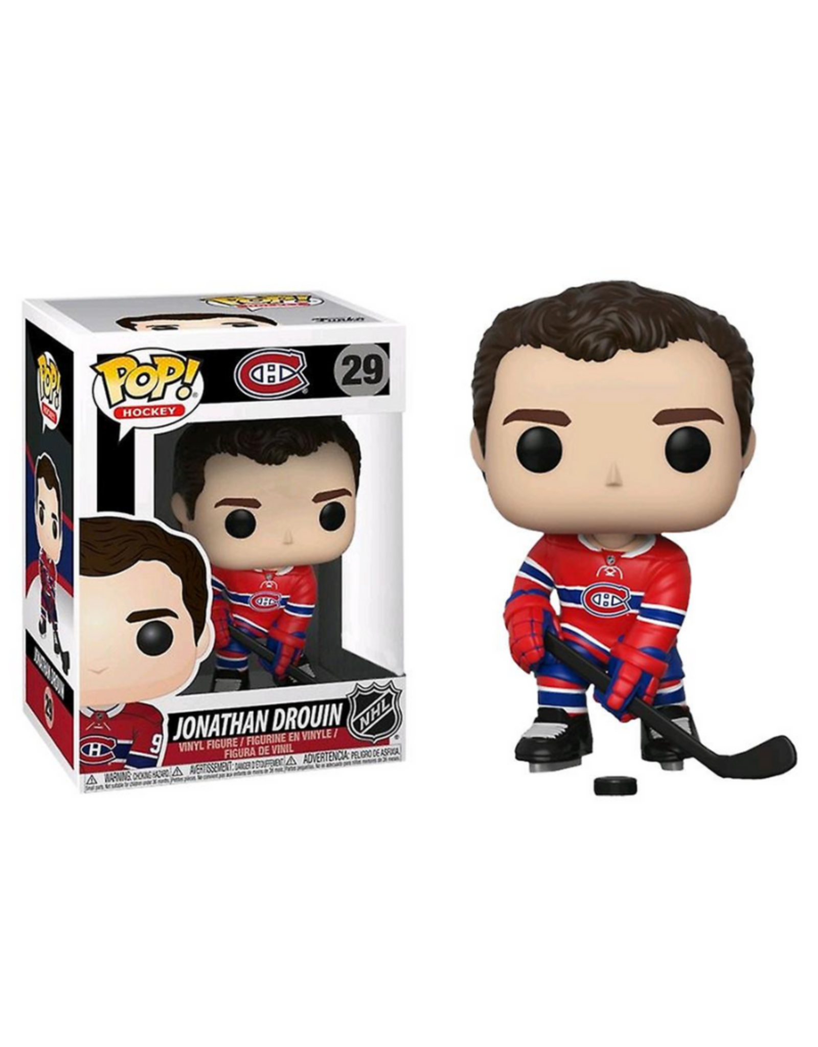 Funko POP! Figure Drouin Montreal Canadiens Red