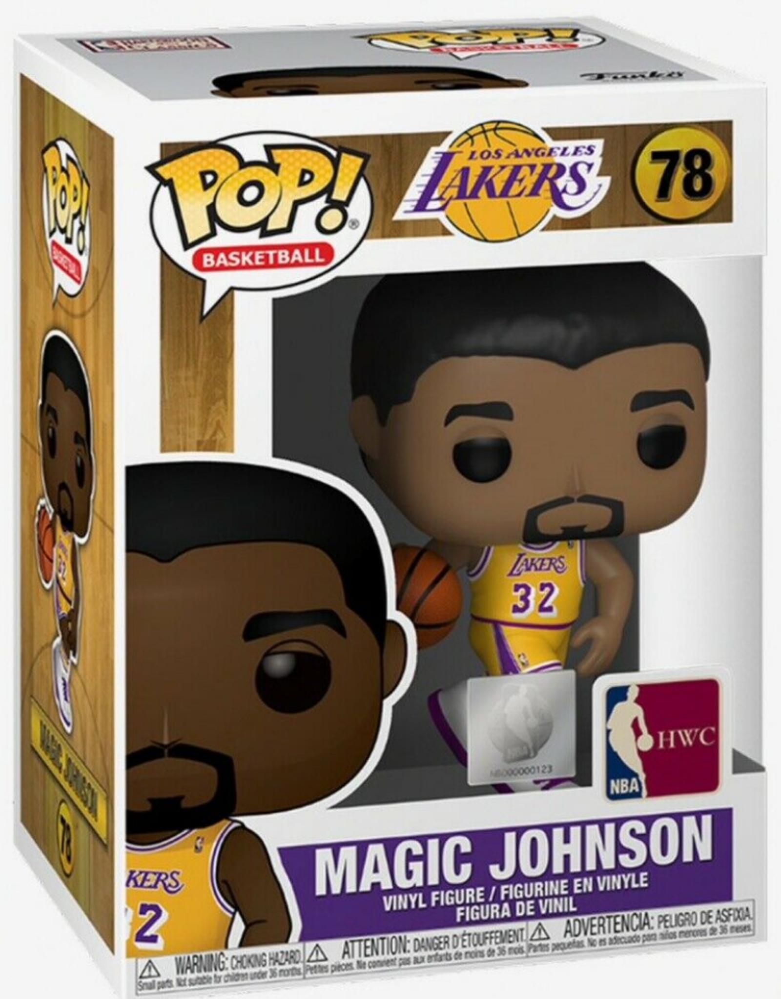 Funko POP! Figure Los Angeles Lakers Magic Johnson Yellow