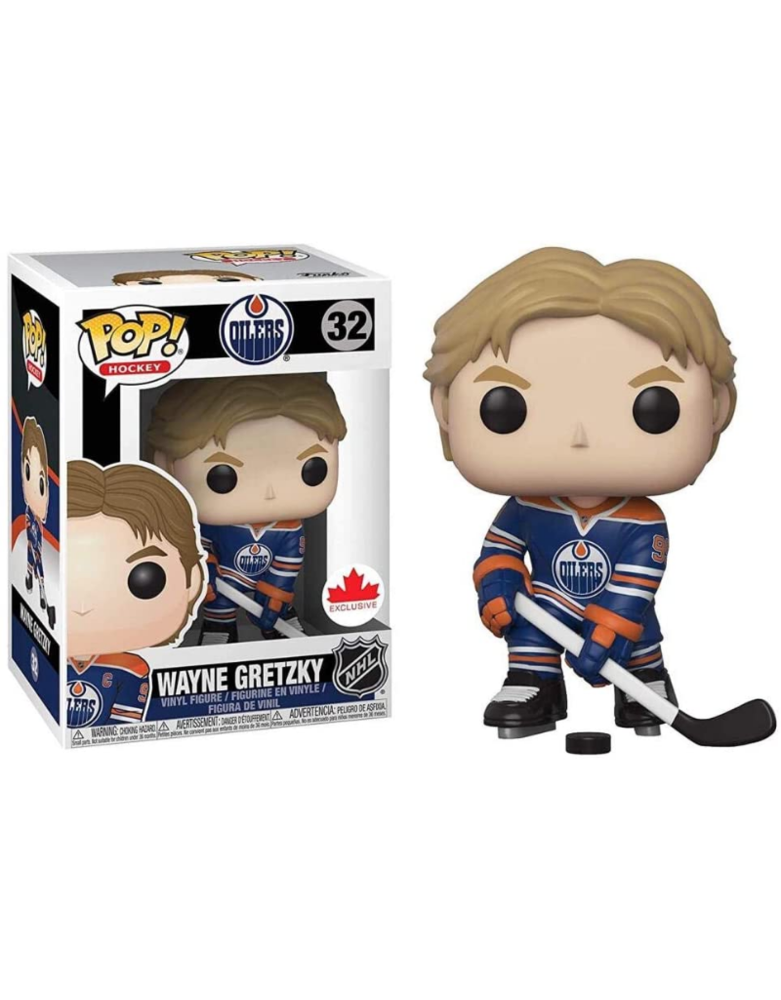 Funko POP! Figure Gretzky Edmonton Oilers Blue