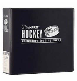 Ultra Pro Hockey Card Binder Black