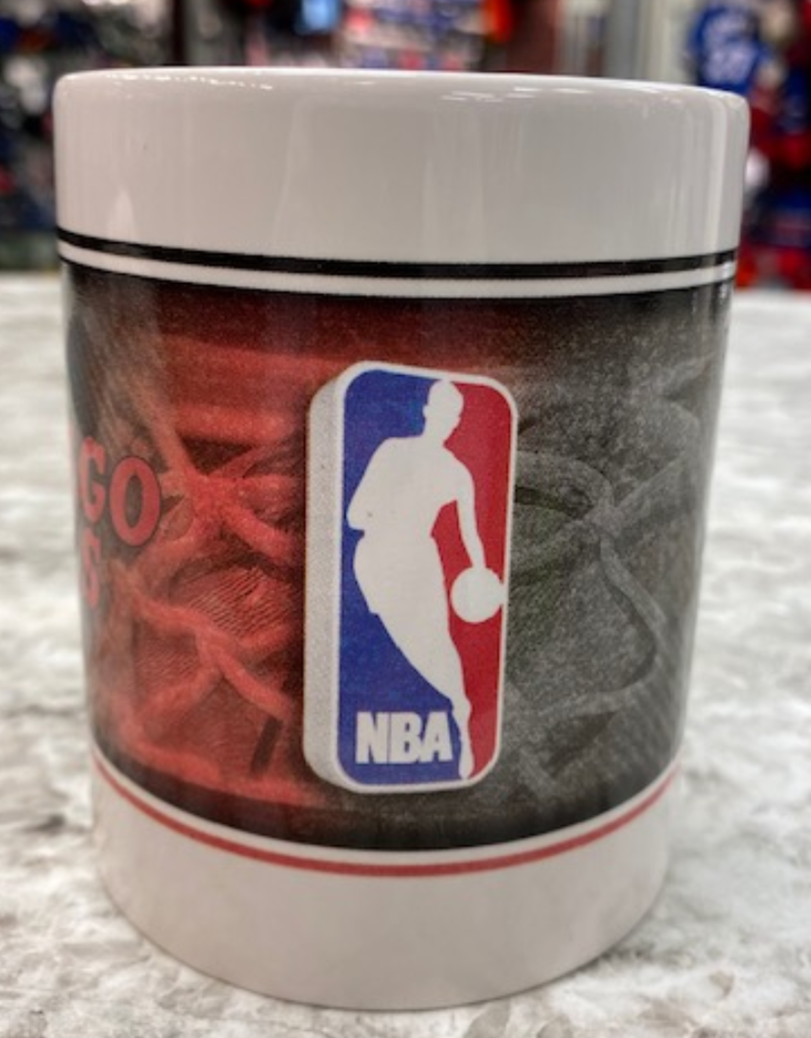 NBA 11oz Coffee Mug Chicago Bulls White