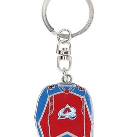 JF Sports Home/Away Keychain Colorado Avalanche