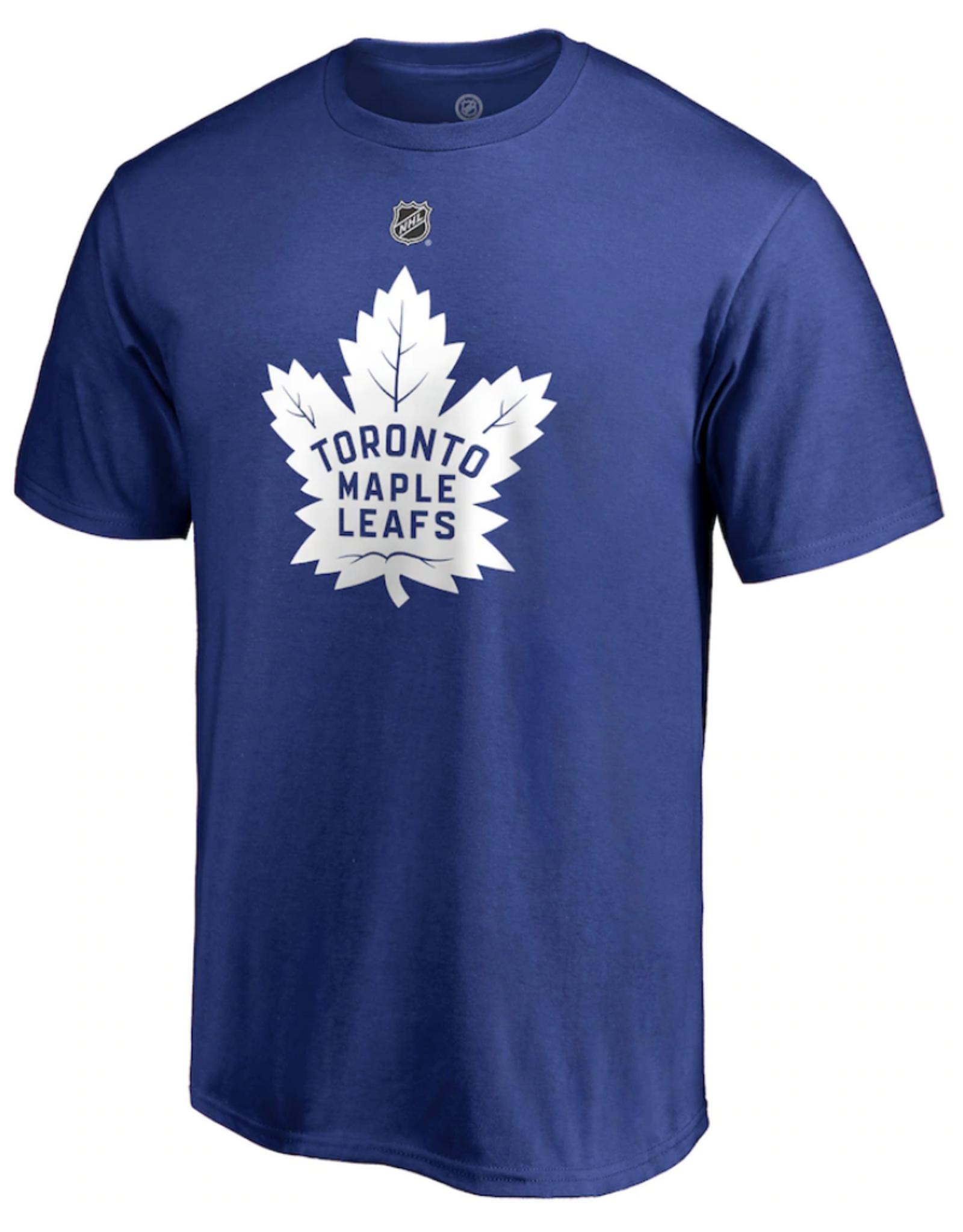 Fanatics Fanatics Men's Stack T-Shirt Nylander #88 Toronto Maple Leafs Blue