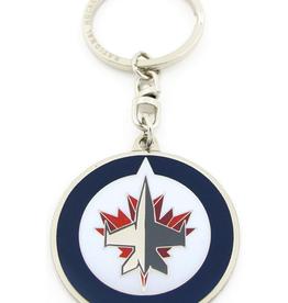 JF Sports Logo Keychain Winnipeg Jets