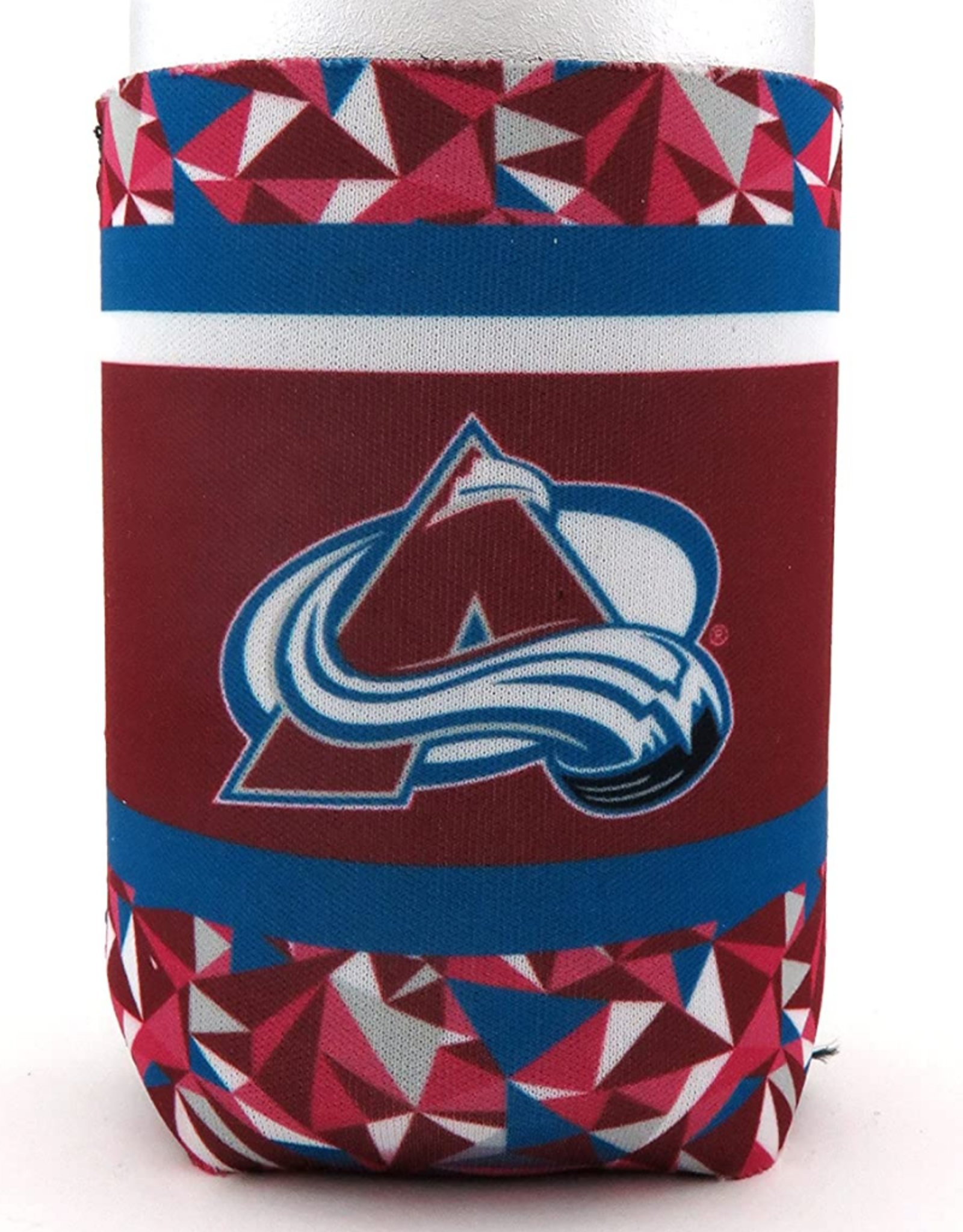 JF Sports Neoprene Can Cooler Colorado Avalanche