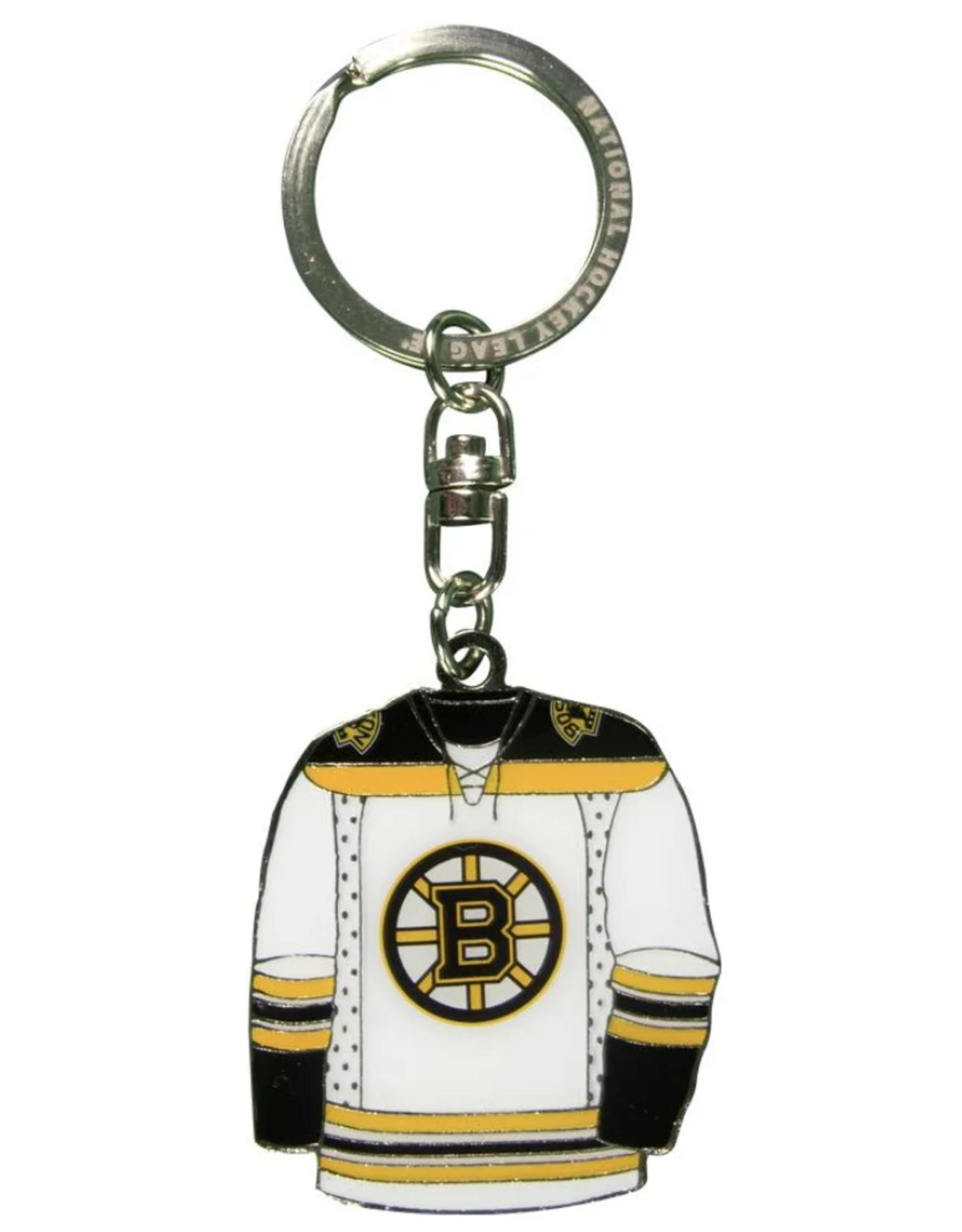 JF Sports Home/Away Keychain Boston Bruins