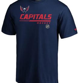 Fanatics Fanatics Pro Prime Washington Capitals T-Shirt Navy