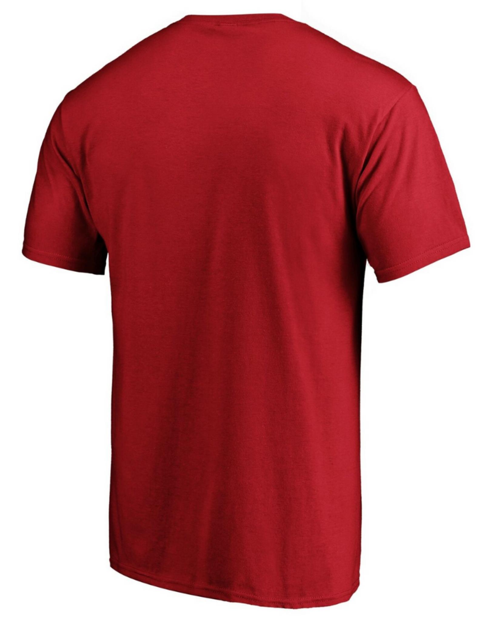 Fanatics Fanatics Men's Authentic Pro Rinkside Prime Detroit Red Wings T-Shirt Red