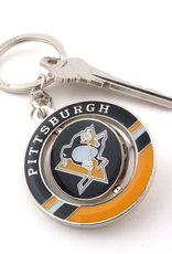 JF Sports Spinner Keychain Pittsburgh Penguins