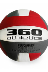 360 Athletic 360 Athletics Composite Volleyball Red White Grey