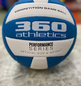 360 Athletic 360 Athletic Performance Match Volleyball Blue White