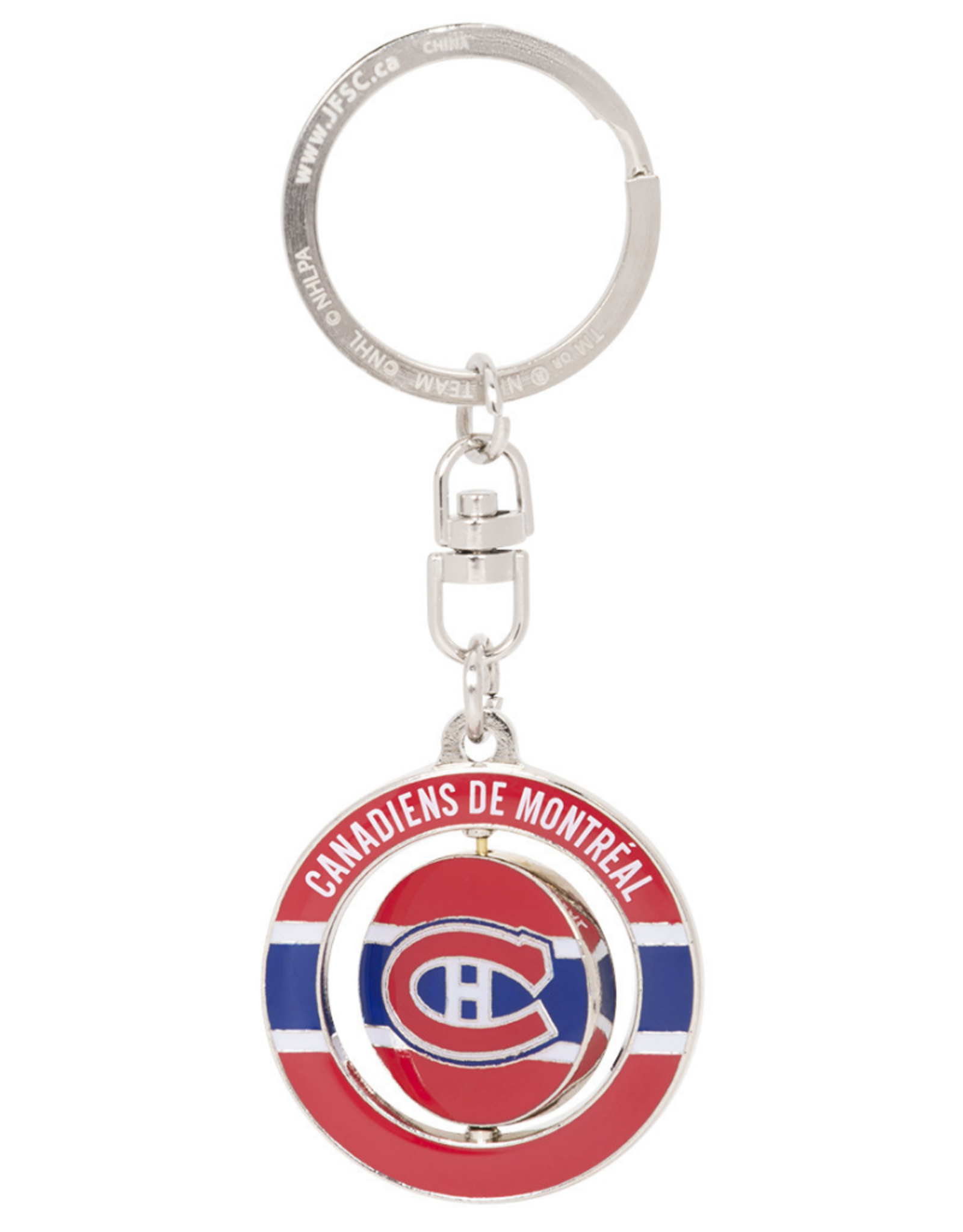 JF Sports Spinner Price #31 Keychain Montreal Canadiens