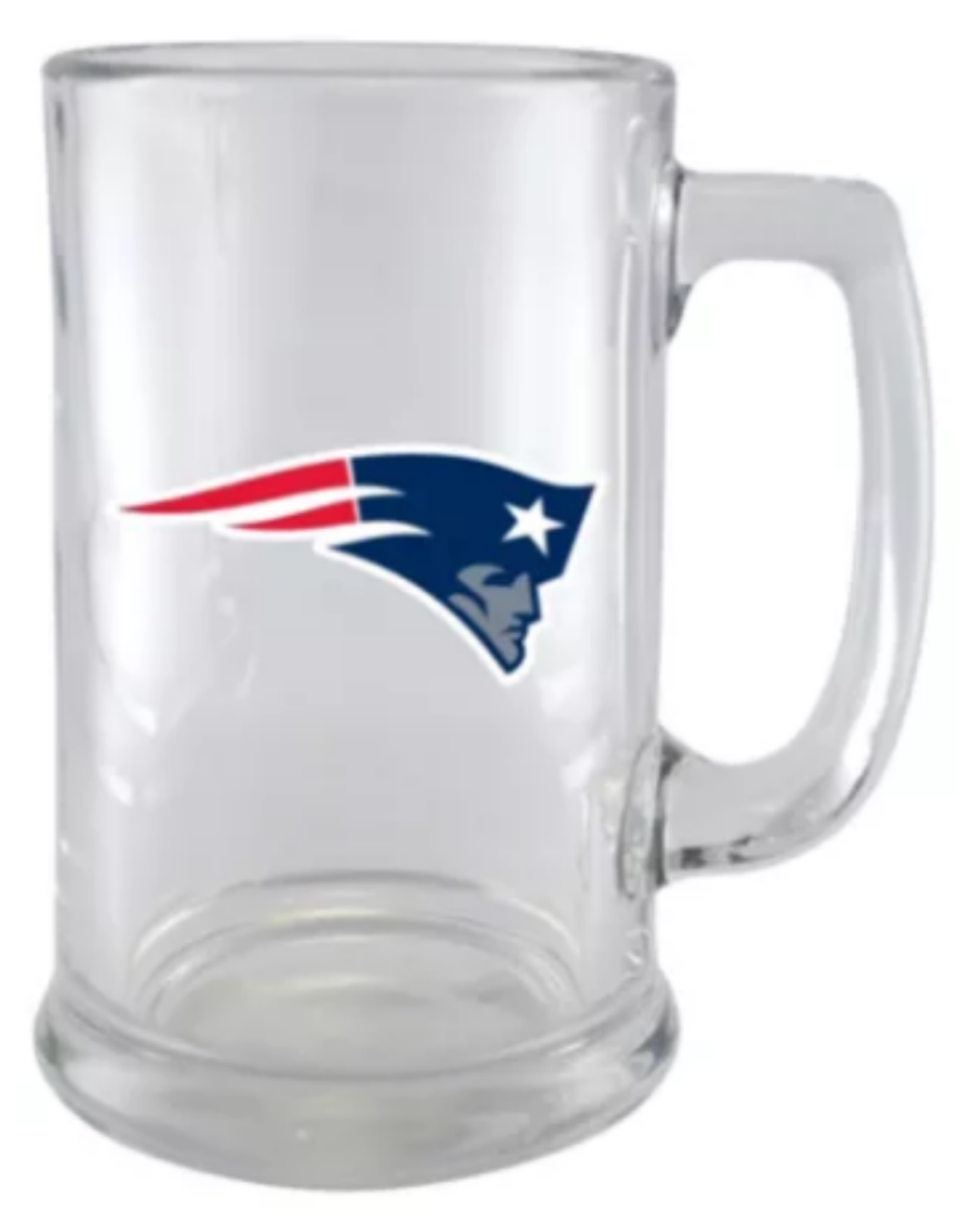 NFL 15oz Wordmark Sport Mug New England Patriots