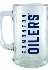 NHL 15oz Wordmark Sports Mug Edmonton Oilers