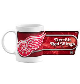 NHL 11oz Sublimated Coffee Mug Detroit Red Wings