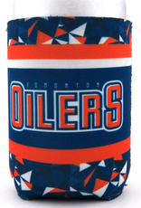 JF Sports Neoprene Can Cooler Edmonton Oilers