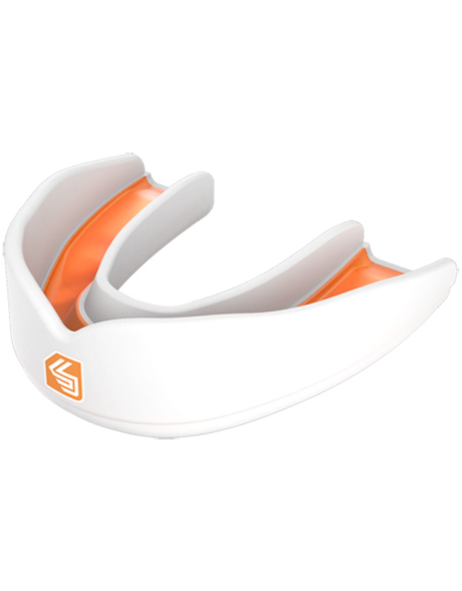 Shock Doctor Adult Basketball Mouthguard White