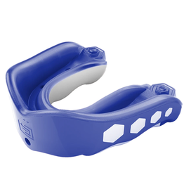 Shock Doctor Adult Gel Max Flavor Fusion Blue Raspberry Mouthguard