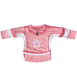 NHL Toddler Sewn-On Jersey Toronto Maple Leafs Pink