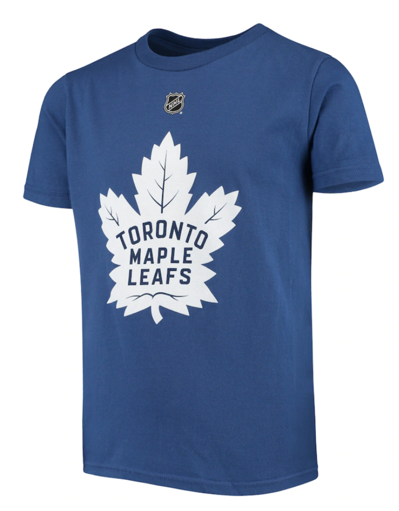 NHL Youth Name & Number Matthews #34 T-Shirt Toronto Maple Leafs Blue