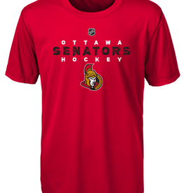 NHL Youth Wordmark T-Shirt Ottawa Senators Red