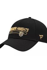 Fanatics Fanatics Men's Rinkside Adjustable Vegas Golden Knights Black