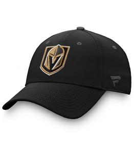 Fanatics Fanatics Men's Locker Room Adjustable Hat Vegas Golden Knights Black
