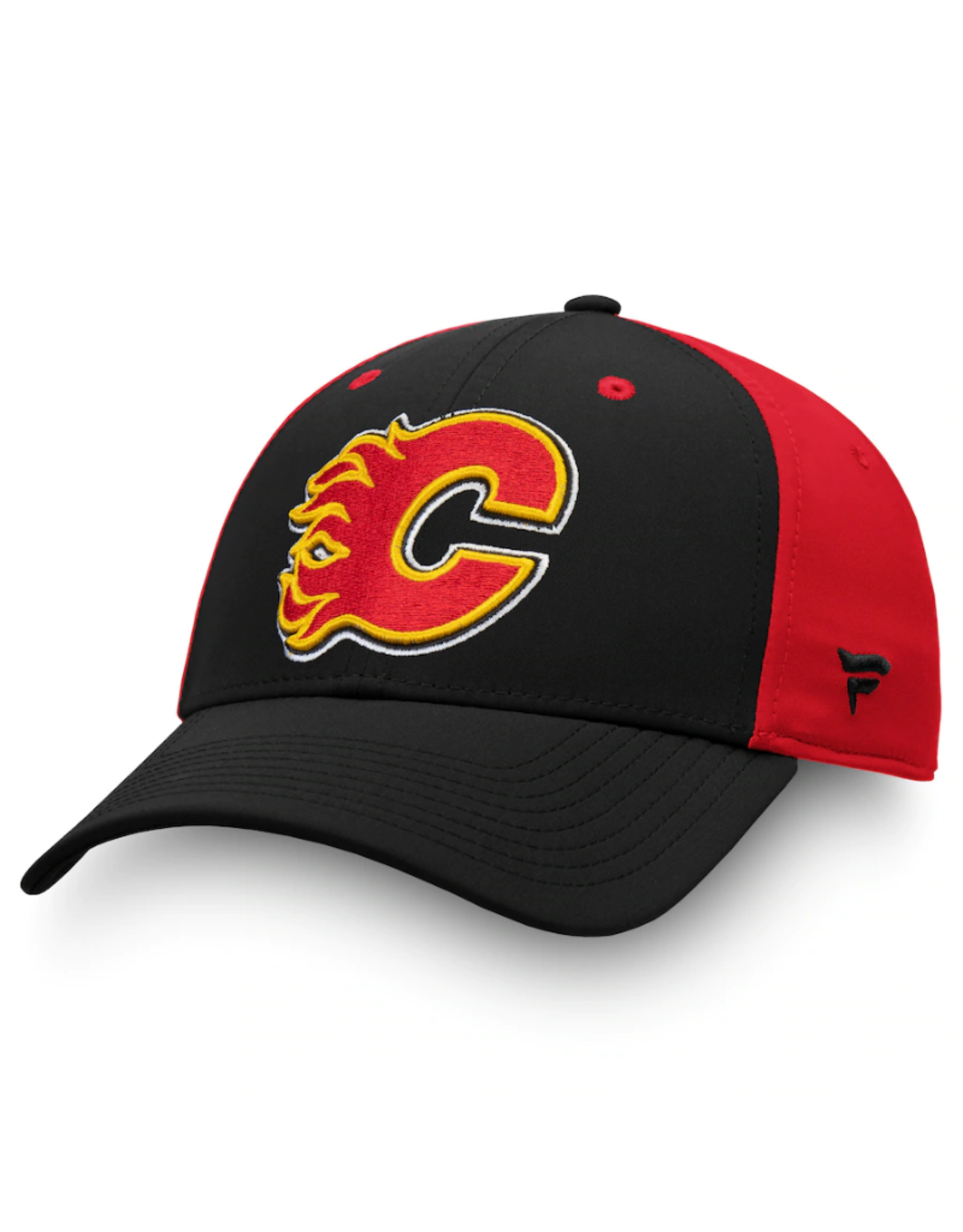 Fanatics Fanatics Men's Iconic Stretch Hat Calgary Flames Black/Red