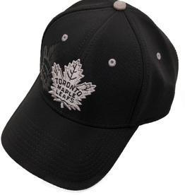 American Needle American Needle Men's Platinum DeBoss Adjustable Hat Toronto Maple Leafs Black