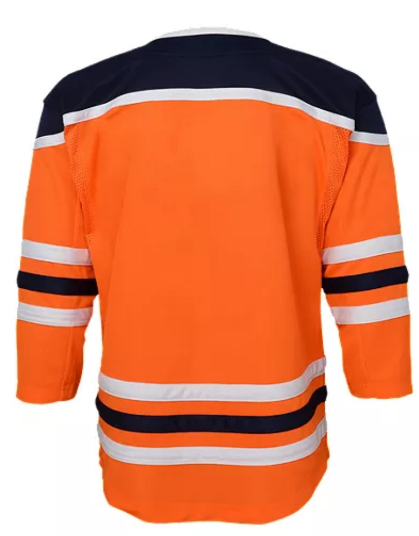 NHL Youth Premier Home Jersey Edmonton Oilers Orange